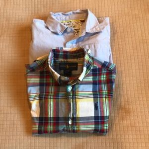 Bundle Boys Button Down Collar Shirts